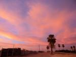 Sunset, Vendel Road