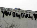 Motivational graffiti